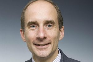 Harrogate anti-Brexit event -  Former Transport Minister, journalist and academic Lord Adonis.