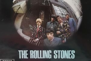 Part of the album cover of the Rolling Stones' Big Hits (High Tide and Green Grass) (1966).