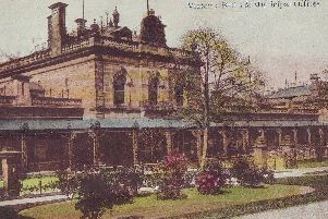 Rich heritage - The origins of Crescent Gardens lay in Harrogate's Victoria Baths and Municipal Offices pictured in 1910
