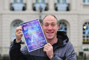 Writer and producer of the pantomime, Ryan Stocks. Picture: Gerard Binks.