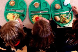 One in 11 pupils in North Yorkshire are claiming free school meals, figures show.