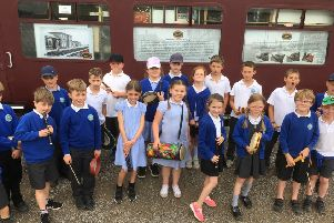 Great Ouseburn pupils on track with music