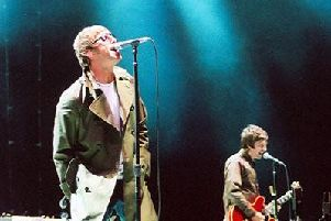Oasis - A tribute to the classic band is playing in Harrogate today.