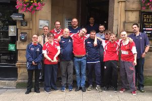 Mixed ability team sign up new sponsor