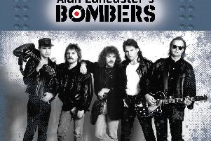 Released by Harrogate independent record label Barrel And Squidger Records - Alan Lancasters Bombers  Live! with strong Status Quo connections.