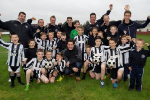 New drains on their pitch is great news for Treeton Terriers Junior FC: Picture: Shaun Flannery