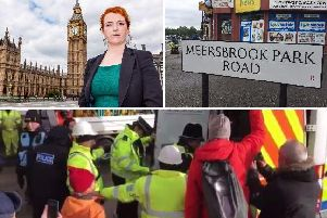 Sheffield Heeley MP Louise Haigh has called the tree felling situation on Meersbrook Park Road 'completely unsustainable'