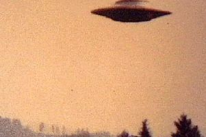 People believed the object was a flying saucer