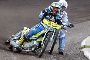 LLasse Bjerre: has to overcome a painful knee condition. Picture by Andy Garner