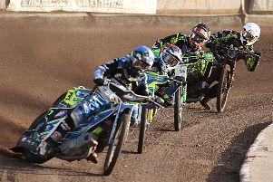 Todd Kurtz leads Kyle Howarth, Aaron Summers and Nicolaj Busk Jakobsen in Tigers' win over Berwick