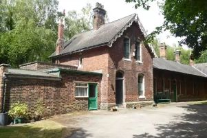 'Haunted' former railway station in Yorkshire for sale
