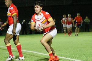 Dual registration ace James Bentley is unavailable for Sheffield Eagles after being named in the St Helens squad