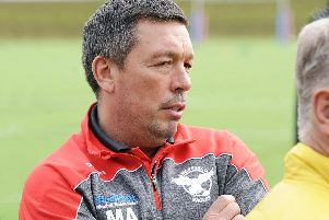 Sheffield Eagles boss Mark Aston