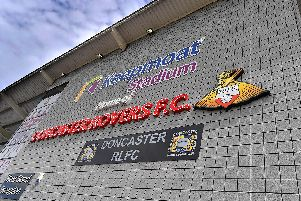 Keepmoat Stadium, home of Doncaster Rovers