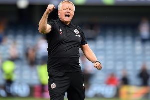 Chris Wilder says Sheffield United supporters have a key role to play: Robin Parker/Sportimage