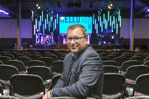 Colin Davies the Commercial Director of Hope City Church for 'Favourite Things' feature. Picture Scott Merrylees
