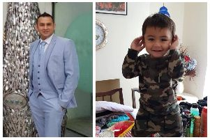 Adnan Ashraf, aged 35 and 16-month-old son, who were killed in a crash on Friday