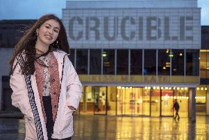 Lowri Anderson at the Crucible Theatre for 'Favourite Places' feature. Picture Scott Merrylees