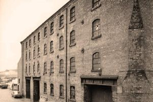 Canalside building