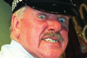 It Ain't Half Hot Mum actor Windsor Davies, who has died at the age of 88, his daughter Jane has said. PRESS ASSOCIATION Photo. Picture: Neil Munns/PA Wire