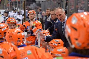 Tom Barrasso spells it out to his troops