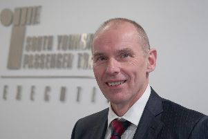 Stephen Edwards, executive director of the South Yorkshire Passenger Transport Executive (SYPTE)'