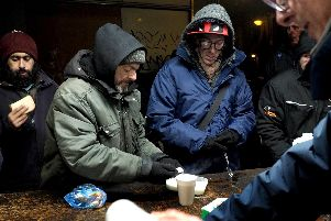 Sheffield Soup Kitchen in the city centre: