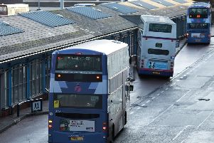 Service 56 will be affected by the roadworks.