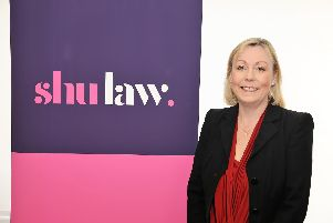 Head of law, prof Elizabeth Smart, pictured, set up SHU Law with solicitors Sally Mallinson-Ayres and Rebecca Draper.