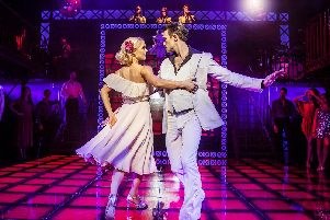 Kate Parr and Richard Winsor in Saturday Night Fever