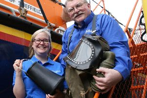 Learning and discovery team at the National Emergency Services Museum in Sheffield, Rosie Norrell and Paul Watson