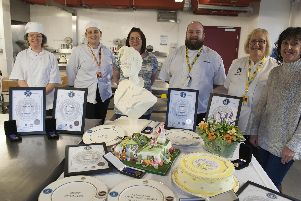 Sheffield College catering staff and students are celebrating after winning a medal haul at one of the countrys largest food service and hospitality events. Two staff and four students won two gold, one silver and three bronze medals in this years Salon Culinaire.