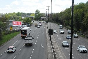 Sheffield Parkway. Picture: Sam Cooper / The Star