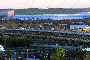 Tinsley Viaduct.