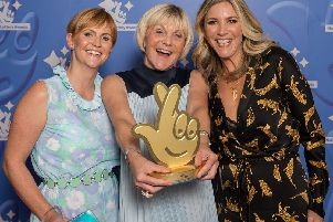 Last year, Fiona Coldron won the National Lottery Special Achievement Award for her work with her family run charity Something To Look Forward To'