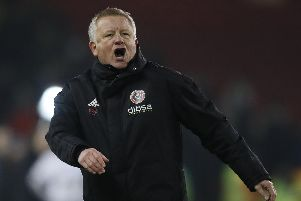 Chris Wilder, manager of Sheffield United