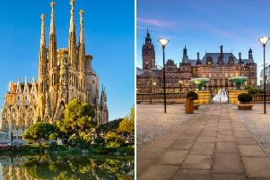 The weather of late has seen mild temperatures and more frequent sunshine, and today Sheffield is set to be hotter than the Spanish city of Barcelona.