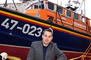 National Emergency Services Museum chief executive Matthew Wakefield, pictured by a 47ft RNLI Lifeboat. Picture: Marie Caley