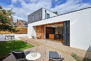 This architect-designed home onTom Lane, Fulwood, has attracted great interest