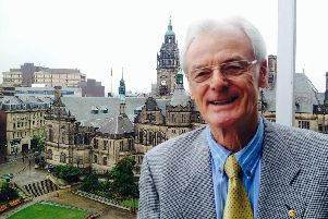 Peter Sephton, chairman of SCRRAG residents' action group, which has changed its name to Changing Sheff