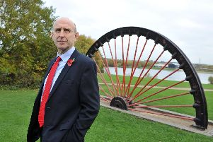 John Healey, MP for Wentworth and Dearne. Picture: Tony Johnson.