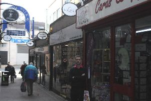 Carl Dunne, of Cards and Gifts, Chapel Walk