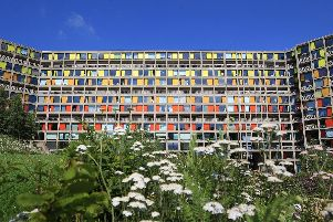 The Park Hill estate in Sheffield.