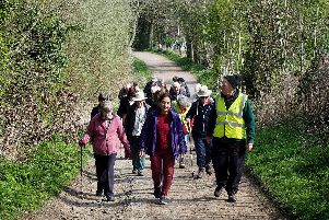 Step Out Sheffield Health Walk in Totley