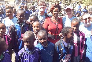 Primary school pupils have donated over 100large bags of school uniforms to children in Kenya.