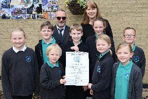 Nook Lane Junior School have signed up to the Sheffield Telegraph Mental Health Charter. Headteacher, Steven Arbon-Davis and Diane Wilkinson, Inclusion manager and asisstant headteacher, pictured with pupils.