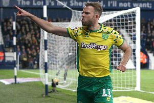 Sheffield Wednesday's Jordan Rhodes playing for Norwich City