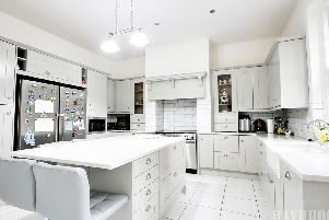 This stunning room is the heart of the home, on Camborne Road