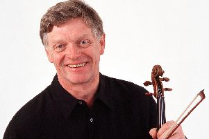 The late Peter Cropper, founder of Sheffield's Music in the Round'Credit: Hanya Chlala/ArenaPAL
