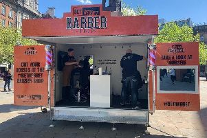 A haircut with a difference in Sheffield